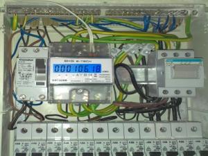 Digitaler Stromzähler für Zuhause