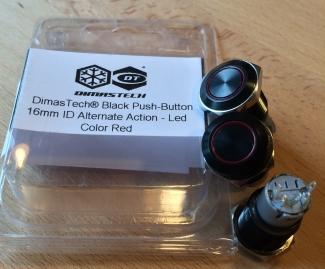 Vandalismus Schalter für HDD LED und Power...