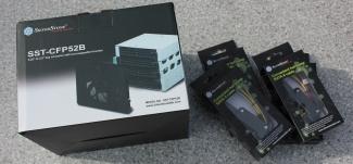 [Review] SilverStone SST-CFP52B Festplatten...