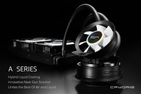 [News] Cryorig stellt hybrid AiO Wasserkühlung...