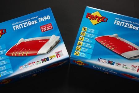 [Vergleich] AVM Fritz!Box 7490 vs. 7390