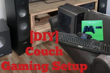 [DIY] Perfektes Couch-Gaming Setup Teil 1