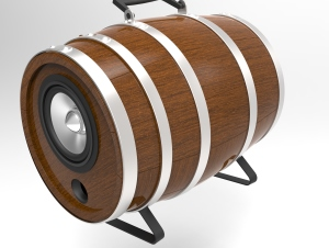 [DIY] Barrel Speaker