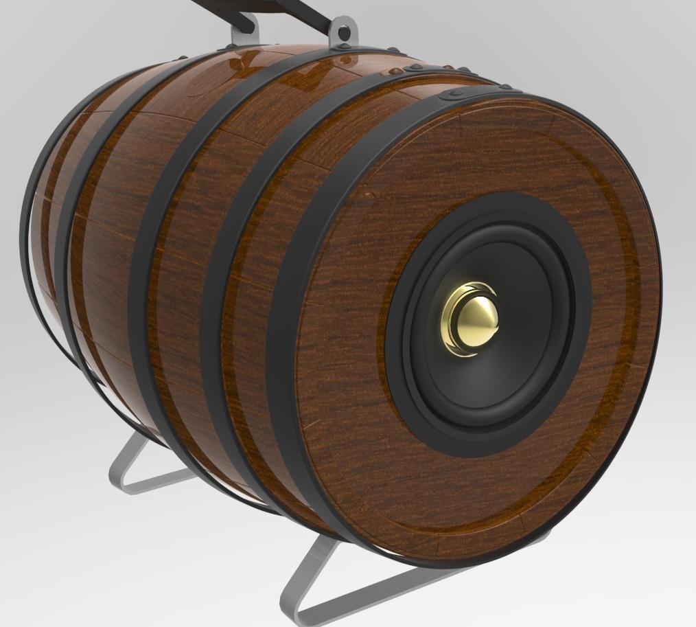 barrel-speaker_black