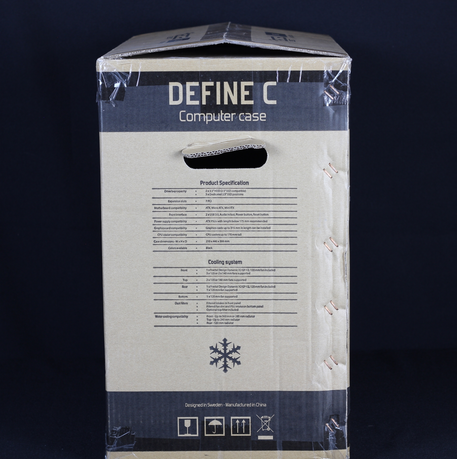 Fractal Design Define C Karton 1