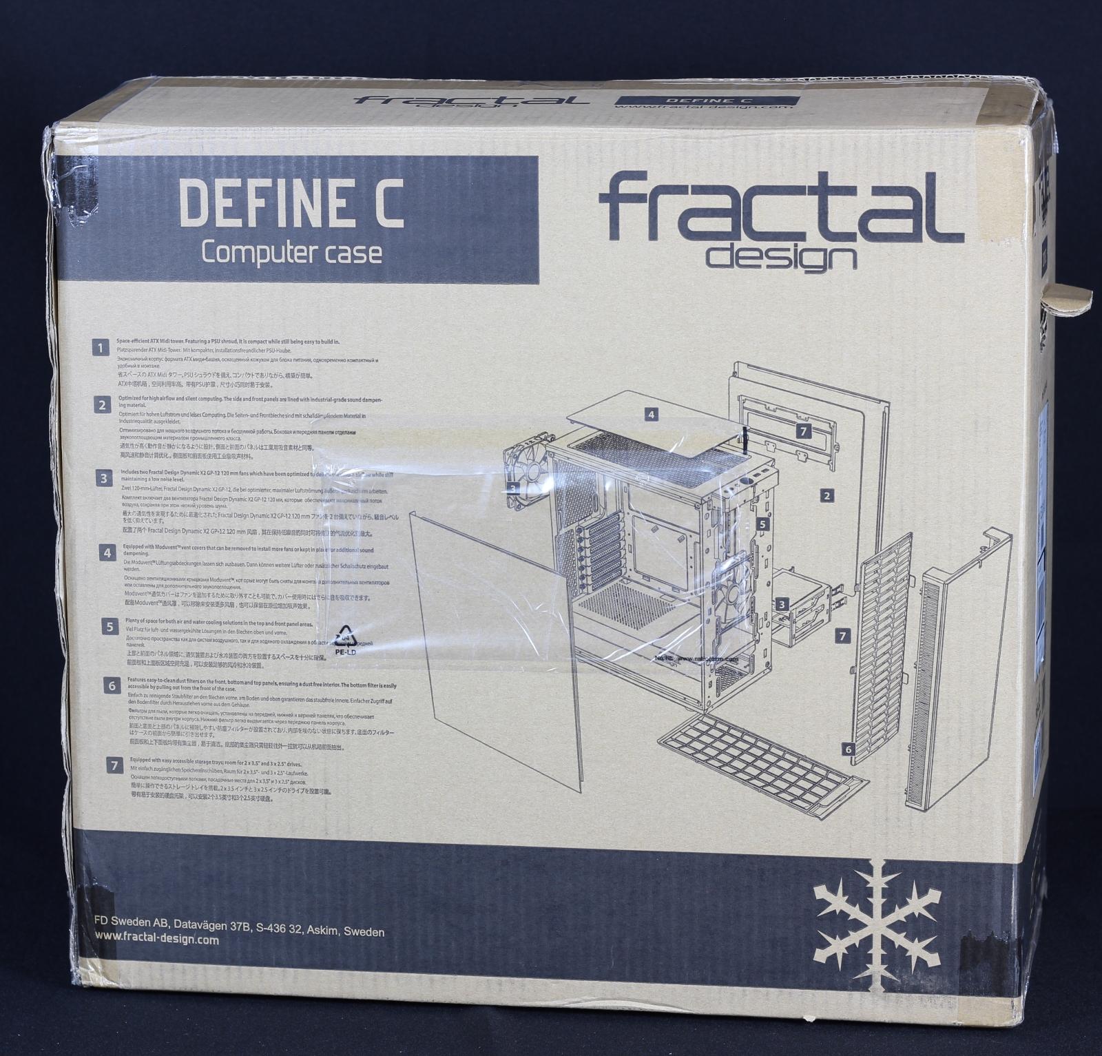 Fractal Design Define C Karton