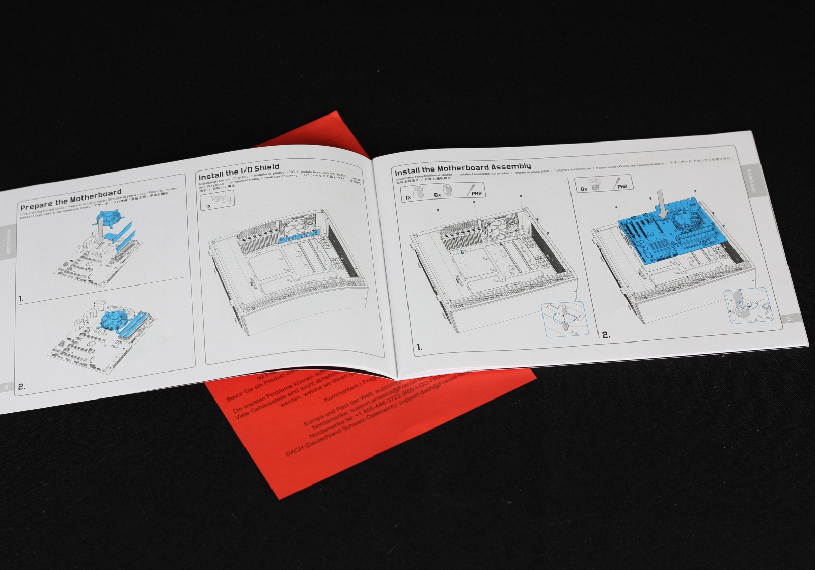 handbuch 1 Fractal Design Define C