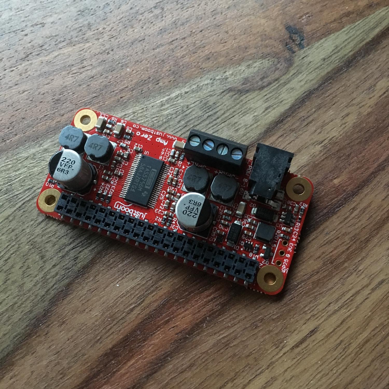Raspberry Pi Zero Justboom amp hat (4)