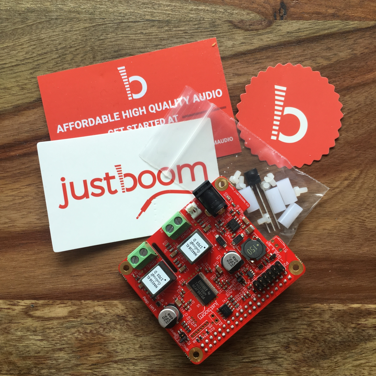 Justboom Amp DAC Hat (2)