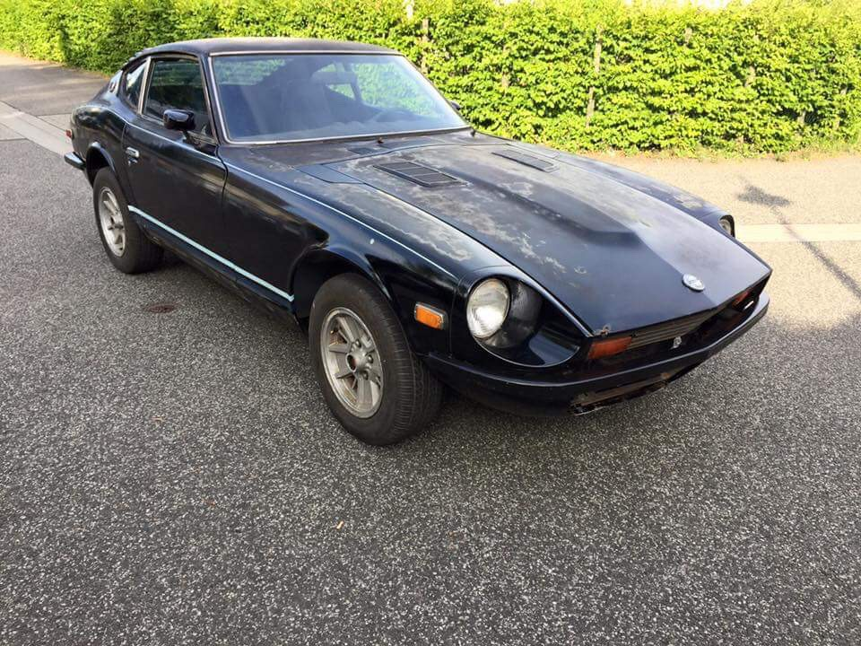 Datsun 280z Black Pearl start (1)