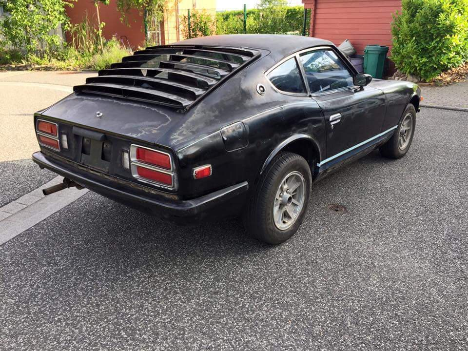 Datsun 280z Black Pearl start (2)