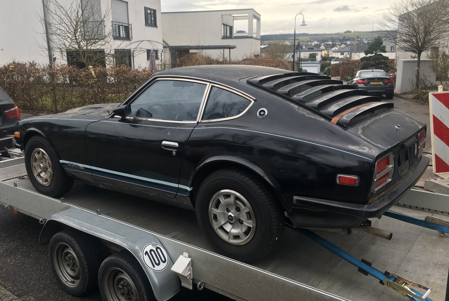 Datsun 280z Black Pearl start (4)