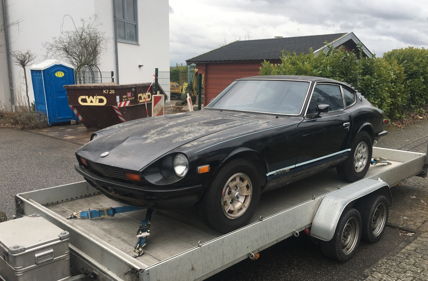Datsun 280z Black Pearl start (5)
