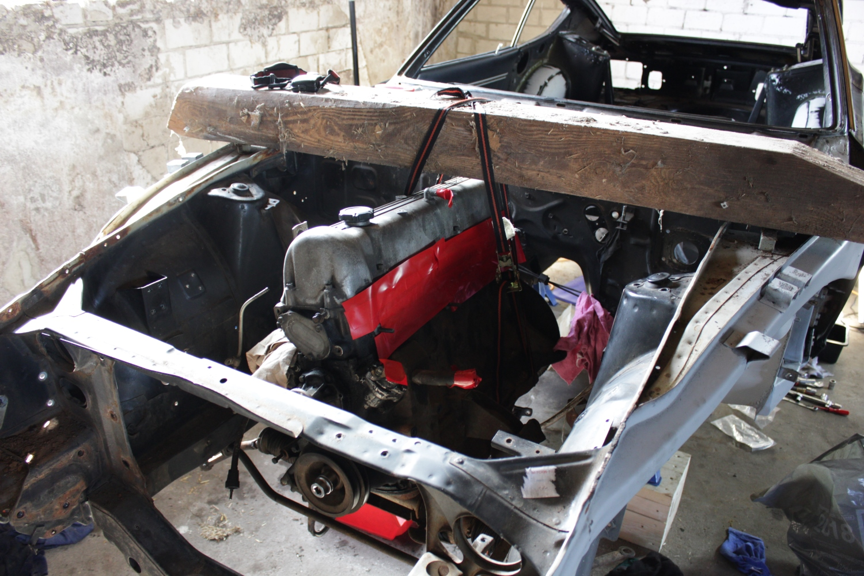 Datsun Stand anfang April (1)