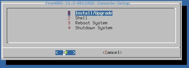 freenas 11 install