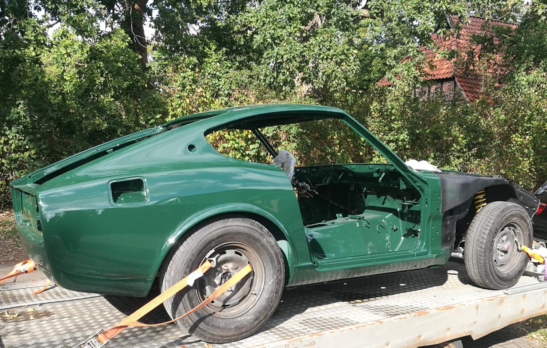 Fertige Lackierung Datsun 280z (3)