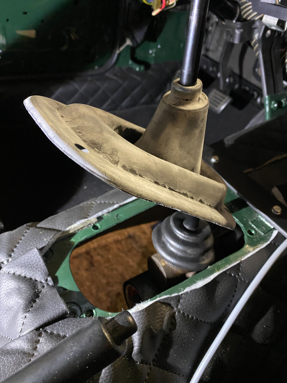 Datsun Automatik Manuell getriebe umbau (2)