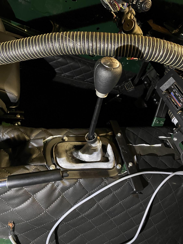 Datsun Automatik Manuell getriebe umbau (3)