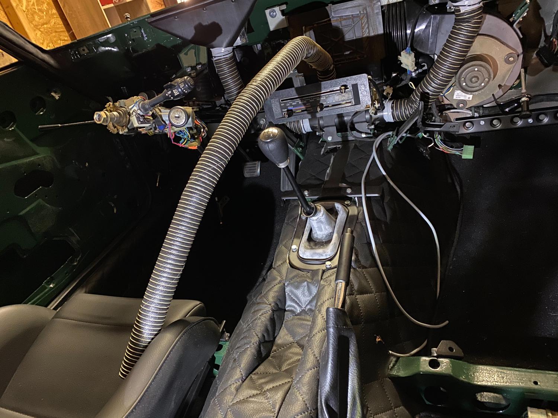 Datsun Automatik Manuell getriebe umbau (4)