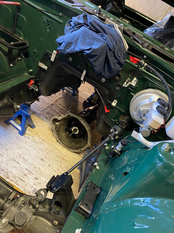 Datsun Z Motoreinbau (2)