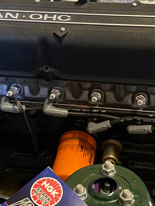 Datsun Z Motoreinbau (3)