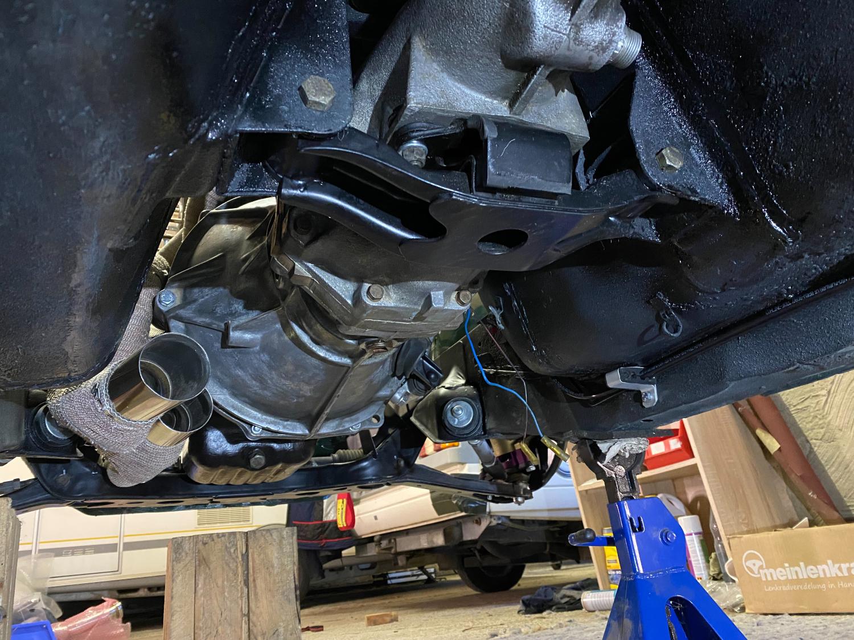 Datsun Z Motoreinbau (4)