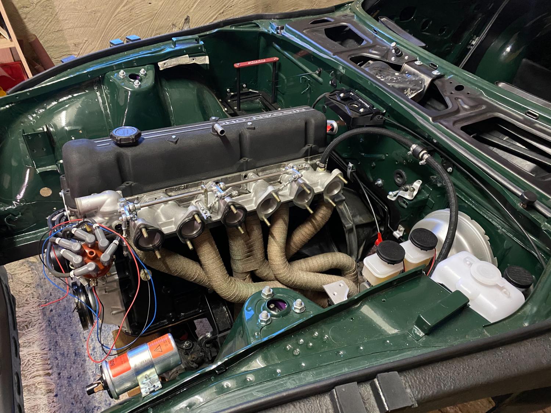 Datsun Z Motoreinbau (5)