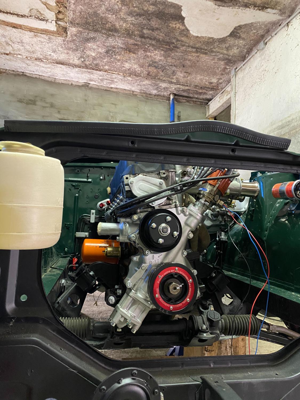 Datsun Z Motoreinbau (7)